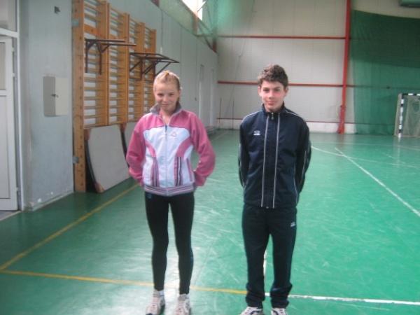 Tineri atleţi care promit