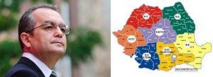 Boc, contrazis de UE : Împărţirea administrativă a României nu are legătură cu fondurile UE