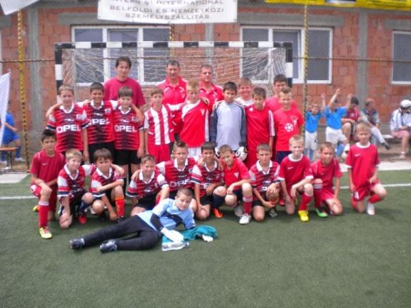 Debreceni V.S.C. câştigă Cupa Kinder