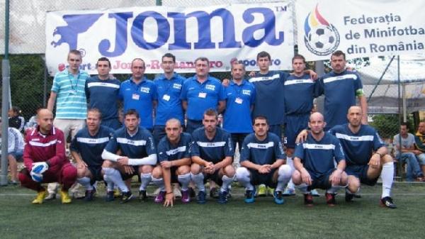 Naționala Artiștilor printre favorite la  Campionatul Național de Minifotbal
