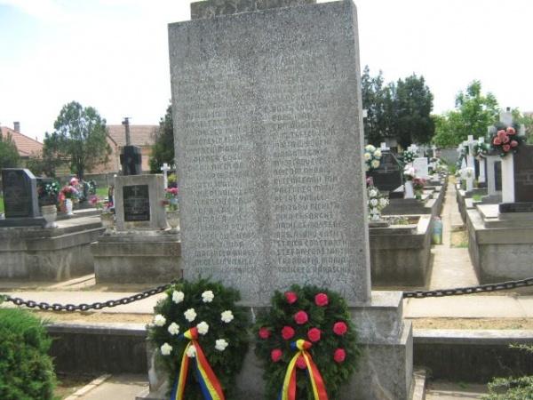 """95 de ani de la  înfiinţarea societăţii """"Mormintele eroilor căzuţi în război"""""""