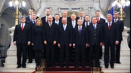 Boc îşi duce miniştrii in Israel