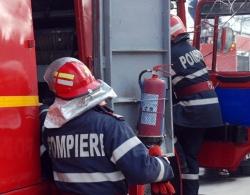 Fetiţă de 7 ani salvată din incendiu