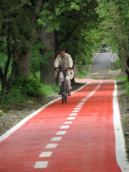 Locul trei pe țară la proiecte pentru piste de bicicliști