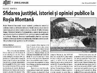 Românii din Canada protestează faţă de afacerea de la Roşia Montană