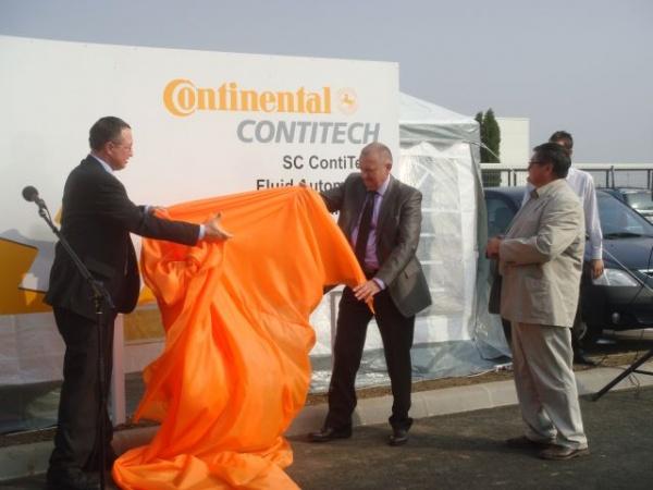 ContiTech Carei a inaugurat staţia de autobuze