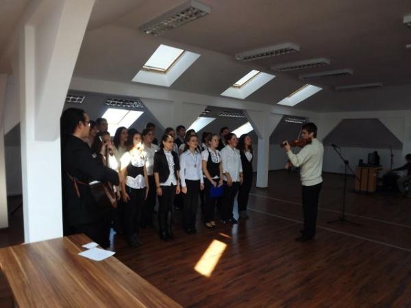 Ziua Armatei Române marcată la Liceul Teoretic Carei