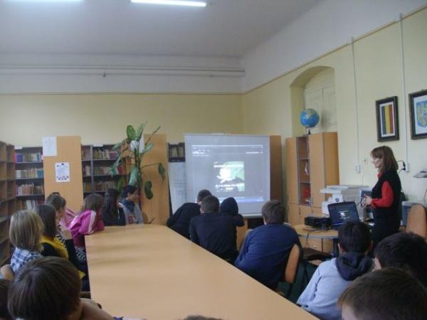 Săptămâna Educaţiei Globale la Şcoala ,, Vasile Lucaciu'' Carei
