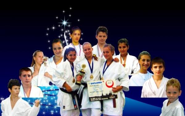Închidere festivă a anului 2011 la CS Karate Do B.F.K.S. Carei