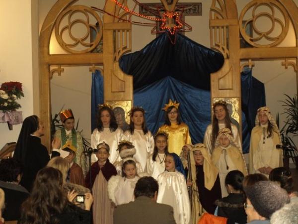 Cânt de bucurie şi de veselie la Biserica Sf.Anton