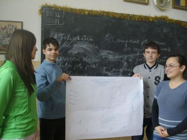 Voluntariat la Şcoala ,,Vasile Lucaciu'' Carei