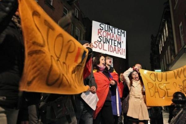 Solidaritate britanică.Corespondenţă de la Londra