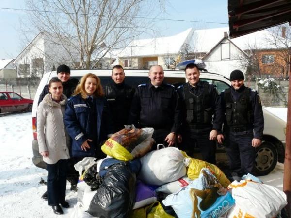 Donaţii  pentru oamenii străzii