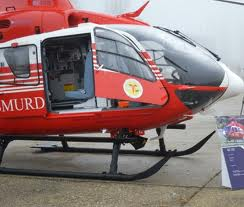 O gravidă  a născut in elicopter