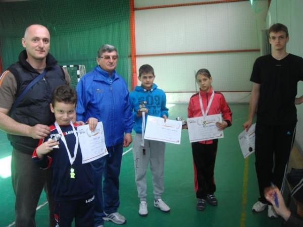 Atletism:3 copii de la CSŞ Carei sunt vicecampioni