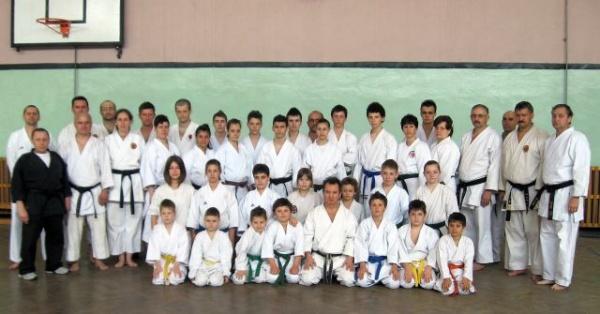 Stagiu de pregătire pentru karateka din Carei