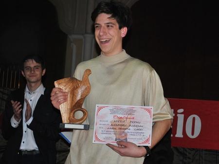 Alexandru Mureşan menţine premiul RECITATIO la Carei