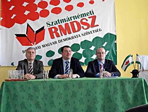 UDMR menţine candidaţii de acum 4 ani pentru alegerile din 10 iunie