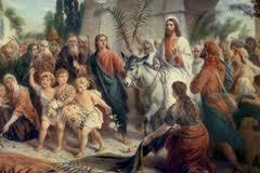 Floriile, Intrarea Domnului in Ierusalim