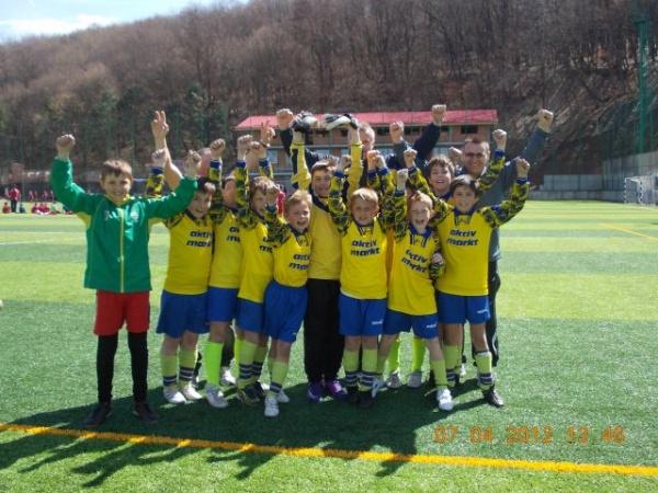 Fotbal:rezultate bune pentru copii de la FC Kinder