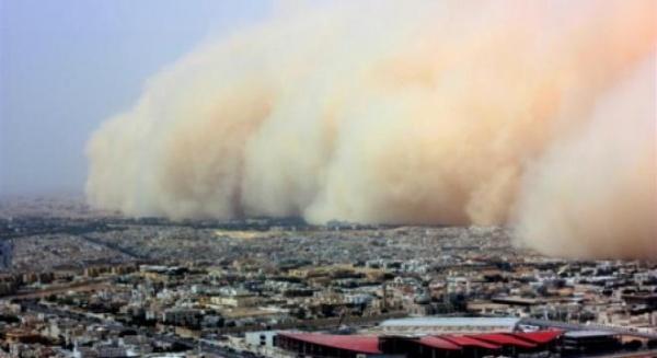 Furtună de nisip saharian peste România