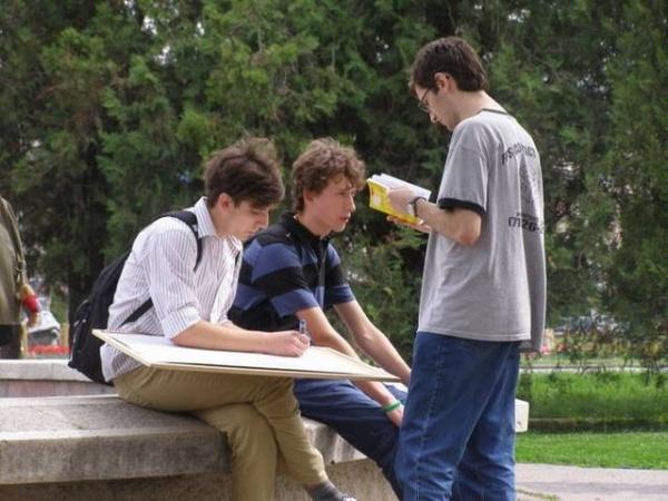 Un prim pas spre Lectura in Aer Liber