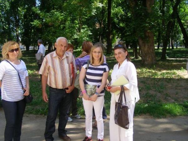 Doamna atletismului românesc,Gabriela Szabo,în vizită la Carei