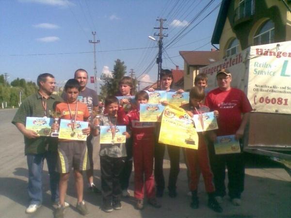 Karting:a treia poziţie pentru elevii lui Mille