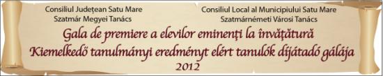 Gala de premiere a elevilor eminenţi la învăţătură, promoţia 2012