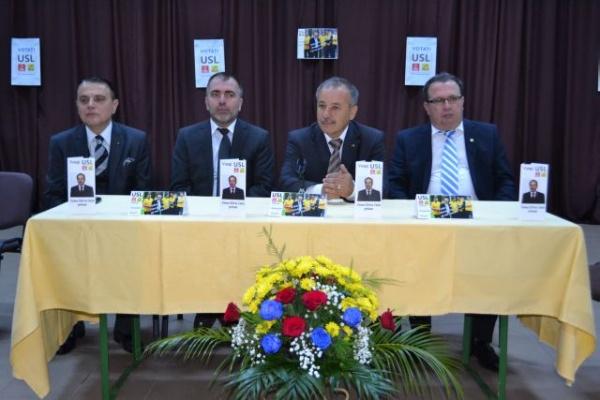 Lansare candidaţi USL la Medieş