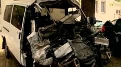 Accident de microbuz pe o autostradă din Ungaria: patru români au murit