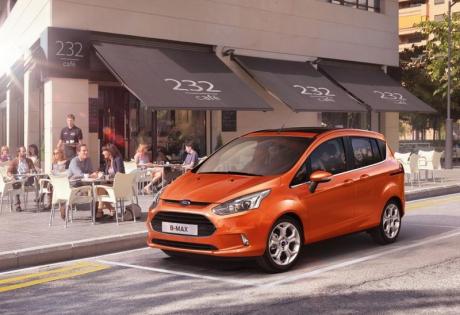 Ford România lansează azi producţia noului model B-MAX