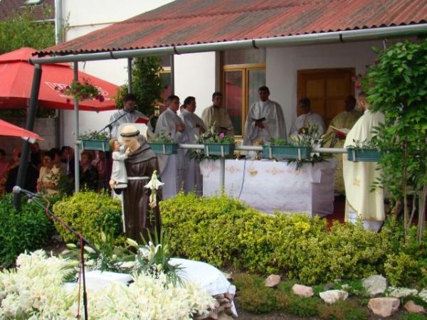 Sărbătoarea Sf.Anton de Padova la Carei