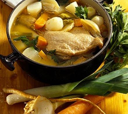 Dieta cu supă de pui