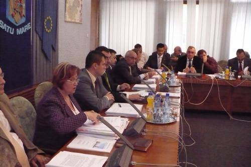 Şedinţa Consiliului Judeţean