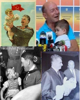 Dictatori care s-au folosit de imaginea copiilor