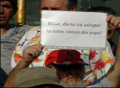 Proteste pro şi contra Băsescu