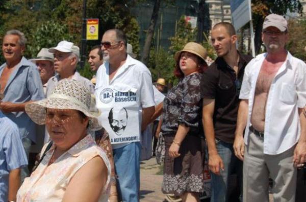 Din culisele mitingului de susţinere a preşedintelui Băsescu la Iasi