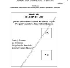 Start în campania electorală pentru referendum! Votul, programat pentru 29 iulie, va fi oprit la ora 20.00