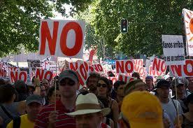 Spania este în fierbere
