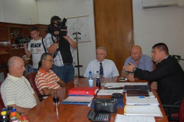 Preşedintele  Sindicatelor Pensionarilor în vizită la Satu Mare