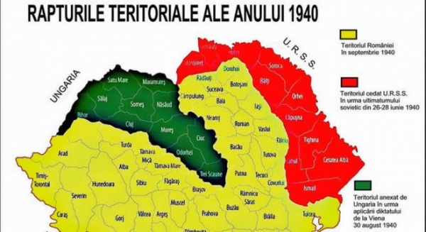 Să nu uităm Diktatul de la Viena – 30 august 1940