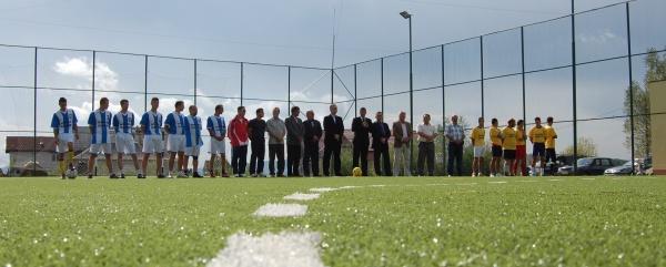 Baza sportiva pentru locuitorii din Vama