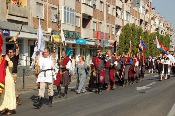 Oaspeţi medievali la zilele careiene