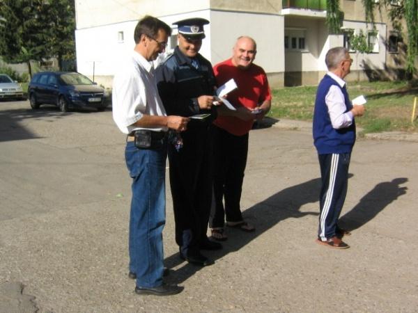 Poliţiştii  în acţiune pentru Sărbători în siguranţă