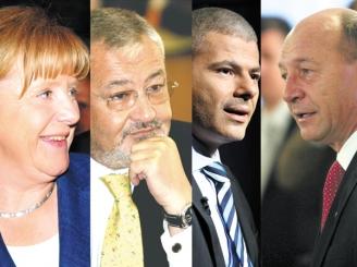 Angela Merkel l-a susținut pe Traian Băsescu, pentru a primi în schimb combinatul Oltchim