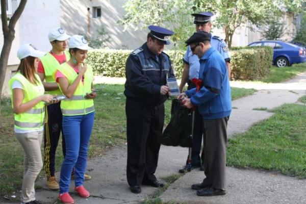 Acţiuni ale poliţiştilor sătmăreni pentru asigurarea  ordinii publice