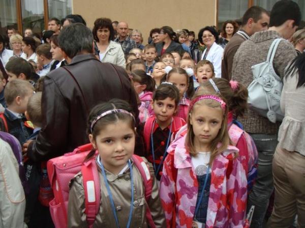 Prima zi de şcoală la Carei