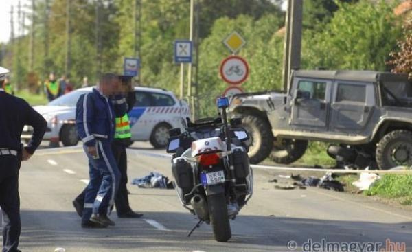 Un şofer de Hummer din Germania a omorât un poliţist maghiar la graniţa cu România