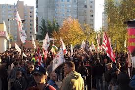 """Protest al romilor, la Miskolc/Ungaria: """"Vrem o ţară fără nazişti"""""""